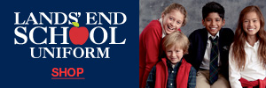 School uniforms from Lands' End