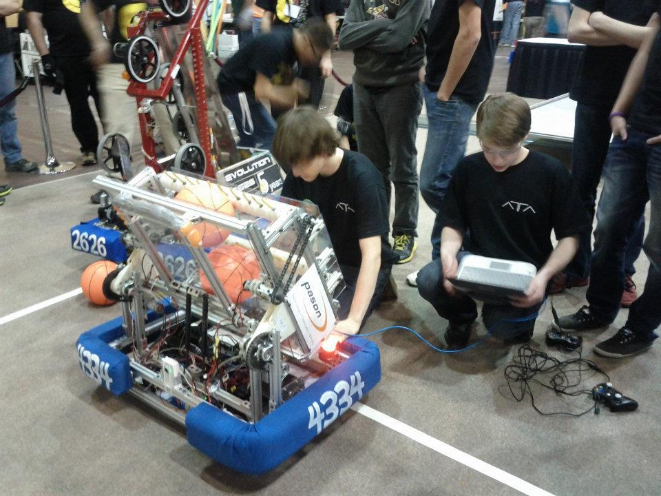 Building the Competition Robot